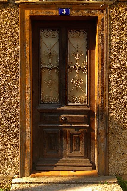 Number Four's Windowed Door