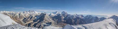 mera merapeak eightthousanders nepal himalayas mountainscape snow trekking mountaineering adventure alone wanderlust outdoor nikon 1855 hiking camping asia kothey kharey thagnak thaknak chhetrala merala expedition
