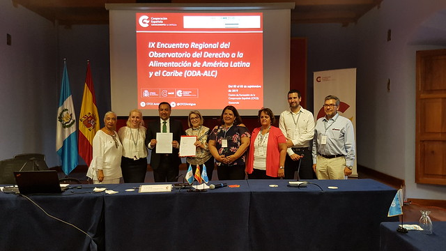 IX Encuentro del Observatorio del Derecho a la Alimentación de América Latina y el Caribe