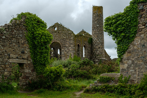 Pumping Engine House, Marriott's Shaft, South Wheal Frances