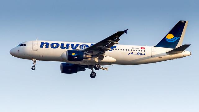 Airbus A320-214 TS-INQ Nouvelair Tunisie