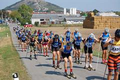 Seriál závodů na kolečkových lyžích se poprvé uskutečnil na Pálavě