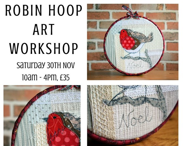 Robin Hoop Art Workshop