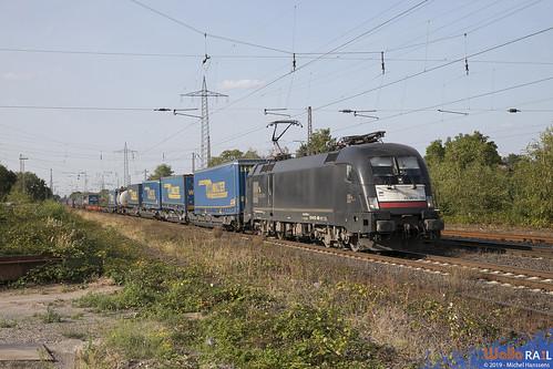 ES 64 U2 628 . Crossrail . 52411 . Lintorf . 31.08.19.