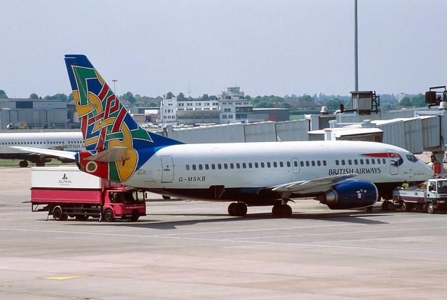 BA/Maersk 737-500