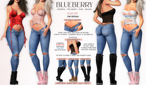 Blueberry Elias Set @ Blueberry Main Store | by Blueberryxx
