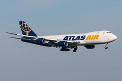 N854GT - Atlas Air - Boeing 747-87UF