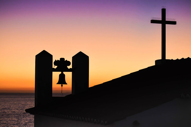 Carvoeiro Shrine Sunset