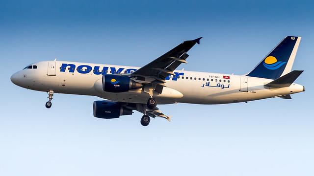 Airbus A320-214 TS-INU Nouvelair Tunisie