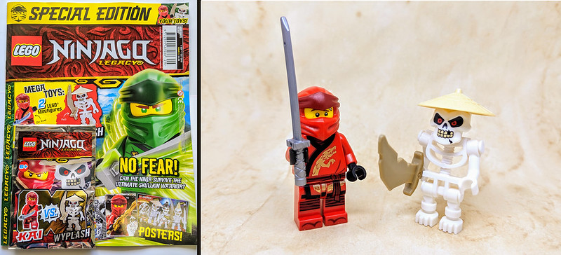 LEGO Magazines September