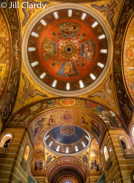 Domes of the Cathedral Basilica of St. Louis