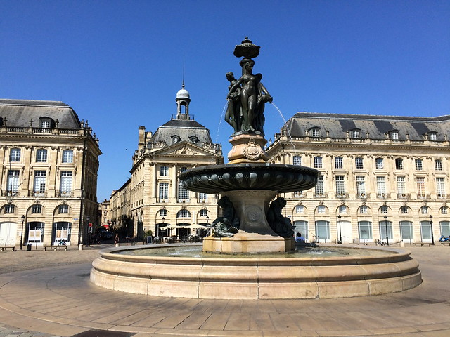 Fontaine Place de la Bourse