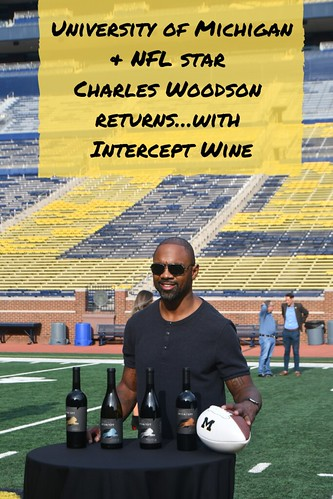 University of Michigan & NFL star Charles Woodson returns…with Intercept Wine