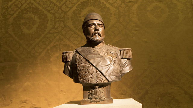 Khedive Ismail of Egypt's bust