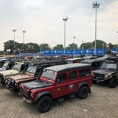 the land rover festival...