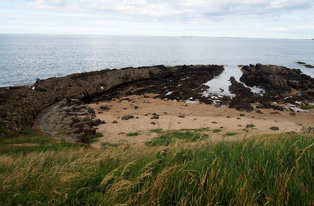 The coast at Bamburgh