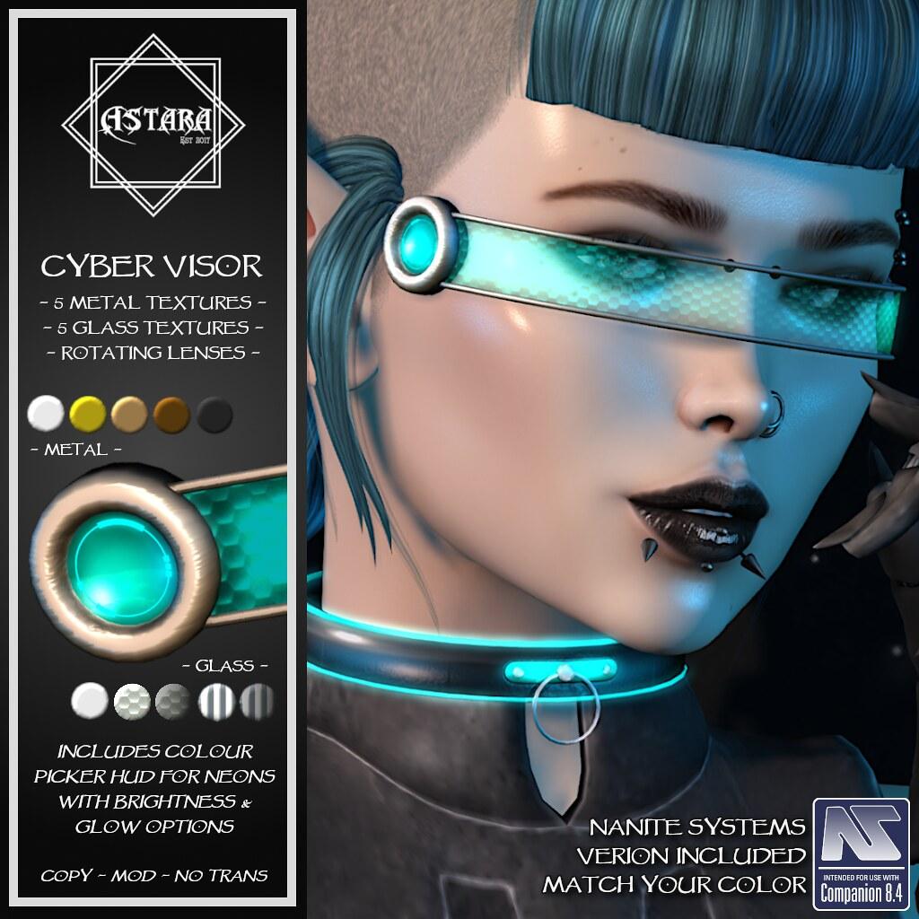 Astara - Cyber Visor - TeleportHub.com Live!