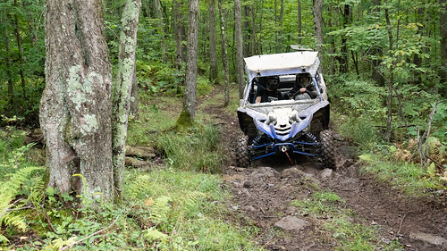 Photo of off-road vehicle on a trail.