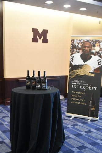 University of Michigan & NFL star Charles Woodson returns…with Intercept Wine