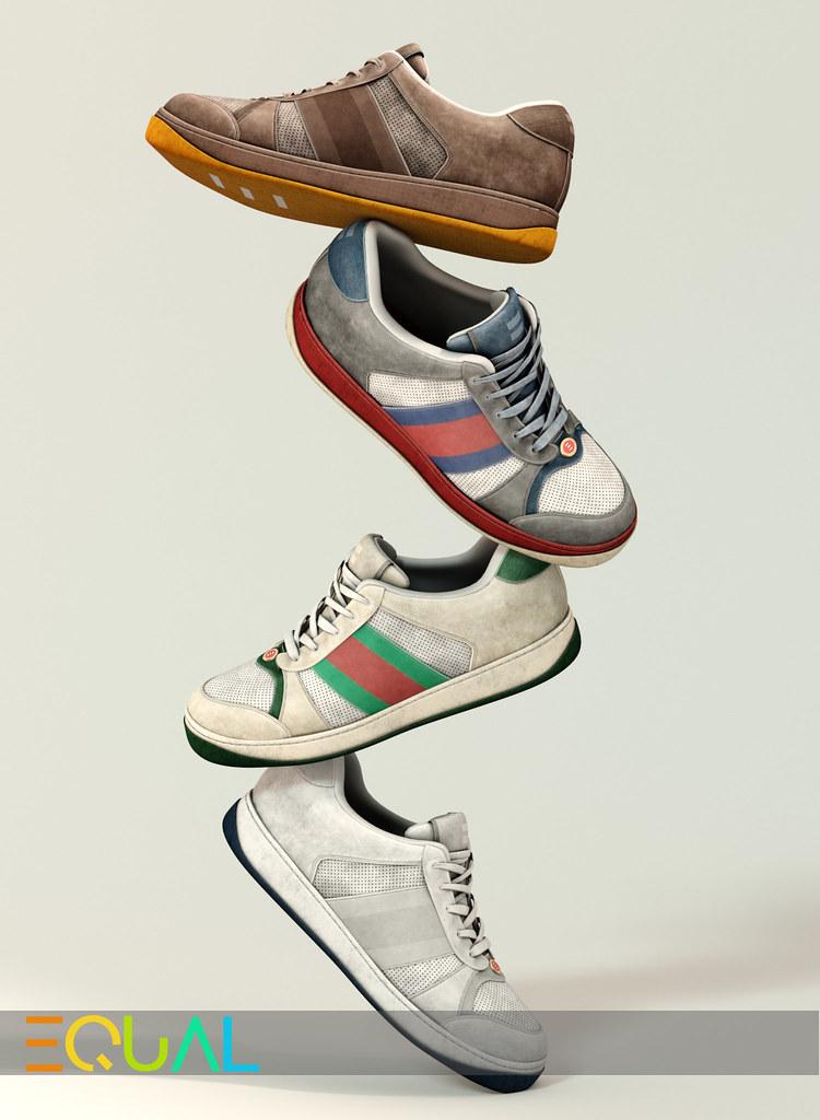 EQUAL - Jaden Sneakers - TeleportHub.com Live!
