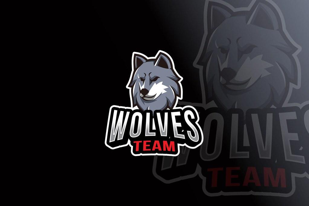 Wolves Team Logo Template