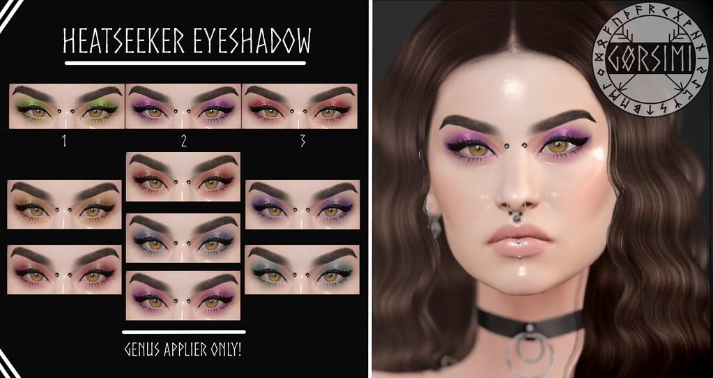 – Gorsimi – Heatseeker Eyeshadow (GENUS)