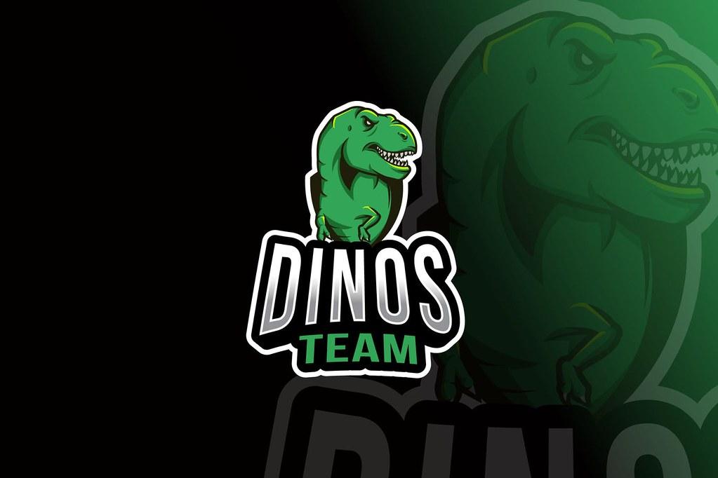 Dinos Team Logo Template