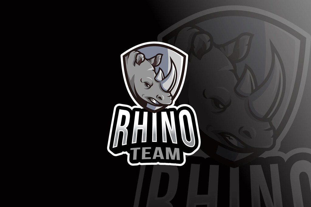 Rhino Team Logo Template