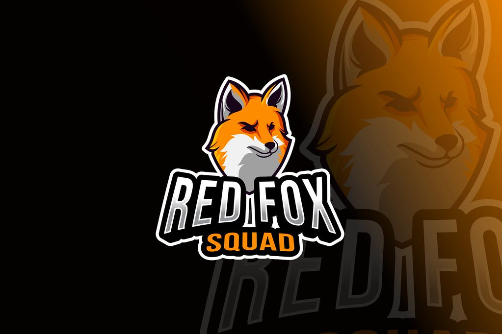 Red Fox Squad Logo Template