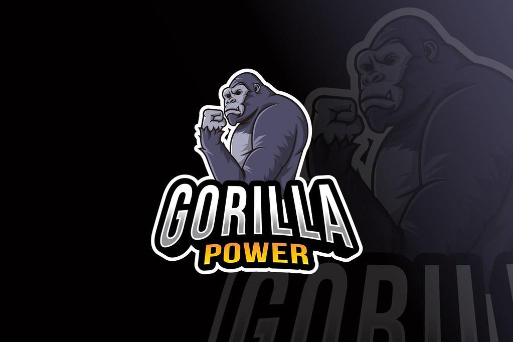 Gorilla Power Logo Template