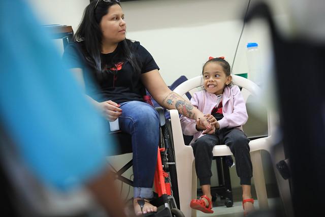 Superação inspira reabilitação de internados no Hospital de Apoio