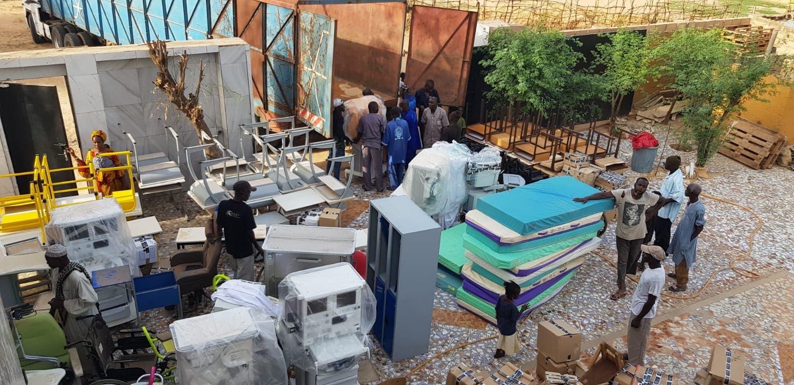 Groupe MDI Technologies mécène au Fouta, Don de Materiel Santé et Scolaire à Matam, Ogo, Thiancone, Fouta, Sénégal (12)