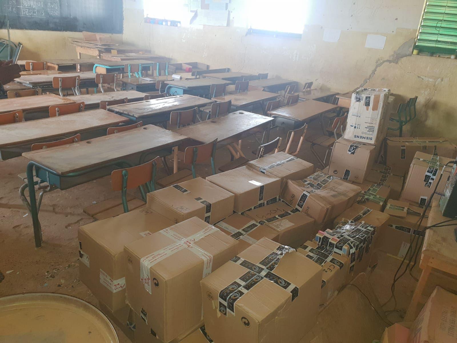 Groupe MDI Technologies mécène au Fouta, Don de Materiel Santé et Scolaire à Matam, Ogo, Thiancone, Fouta, Sénégal (11)