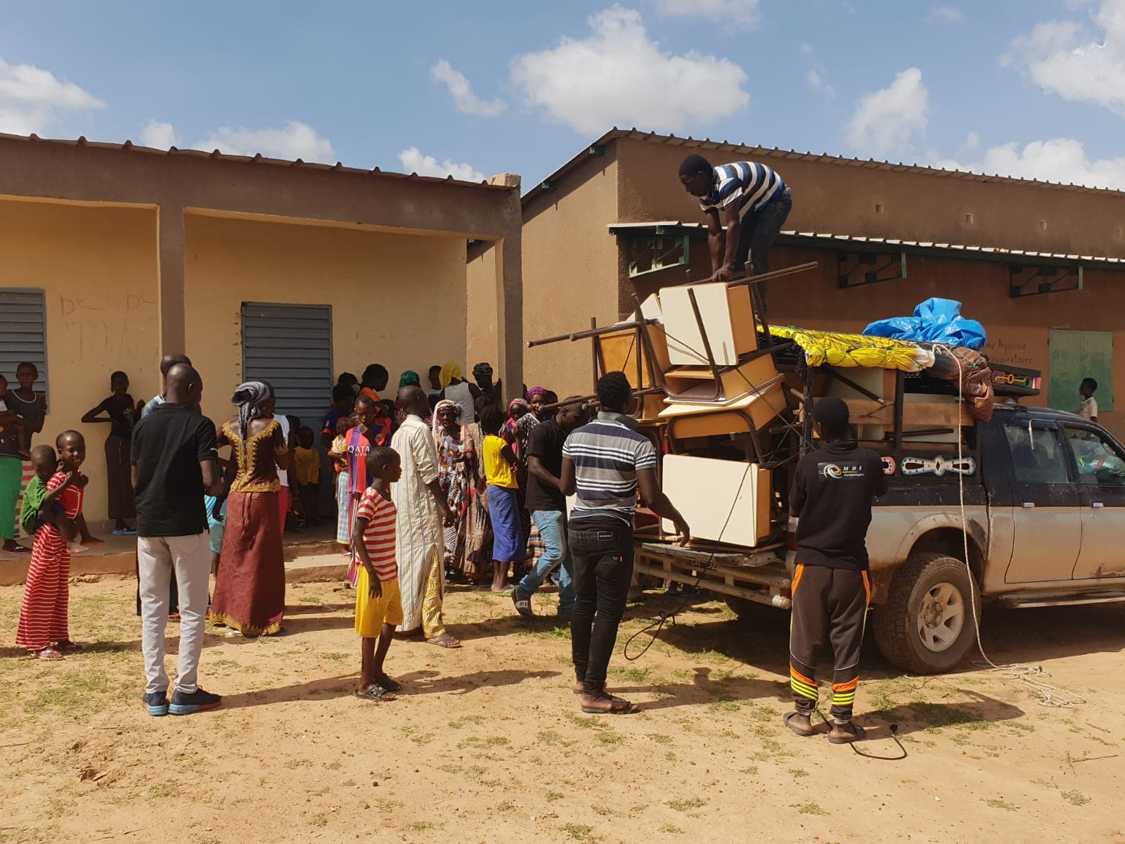 Groupe MDI Technologies mécène au Fouta, Don de Materiel Santé et Scolaire à Matam, Ogo, Thiancone, Fouta, Sénégal (10)