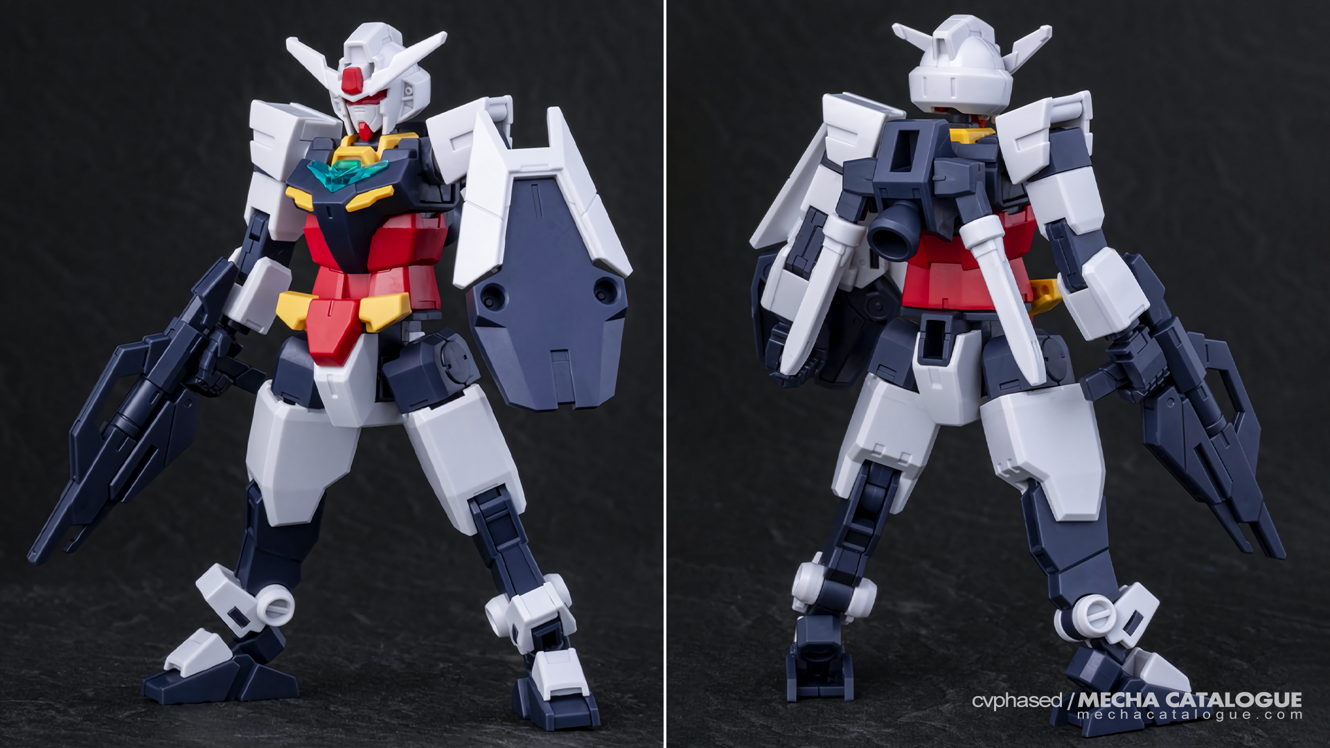 Straight Build Preview: HGBD:R Earthree Gundam