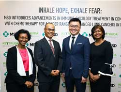 MSD introduces new drug treatment for lung cancer in Malaysia