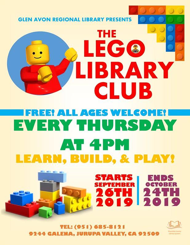 Lego Club Flyers