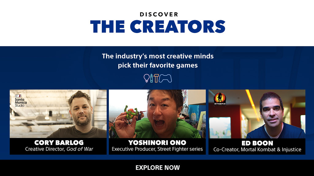 Discover the Creators on PS4