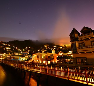 Foggy Night in Sausalito