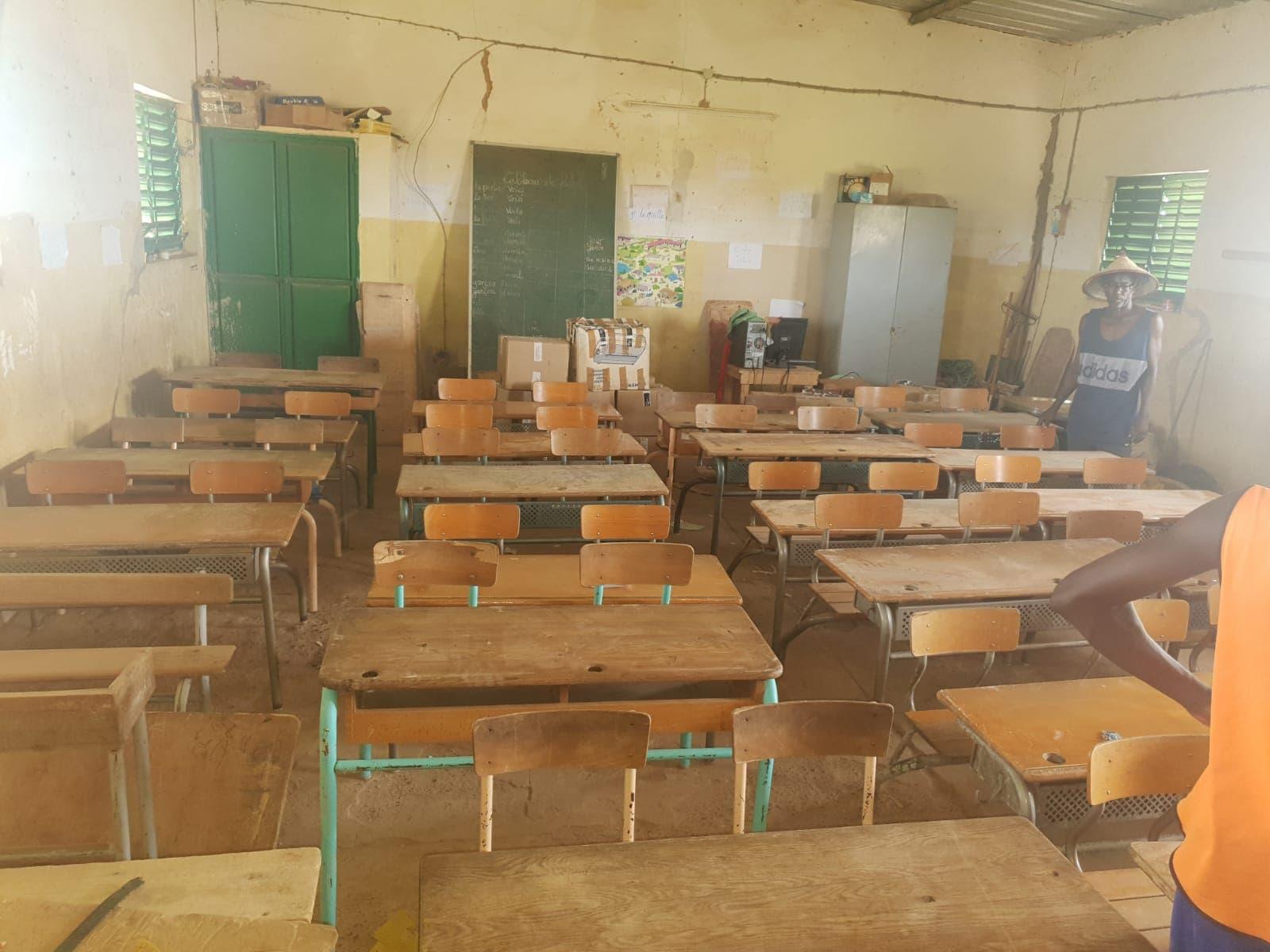 Groupe MDI Technologies mécène au Fouta, Don de Materiel Santé et Scolaire à Matam, Ogo, Thiancone, Fouta, Sénégal (16)