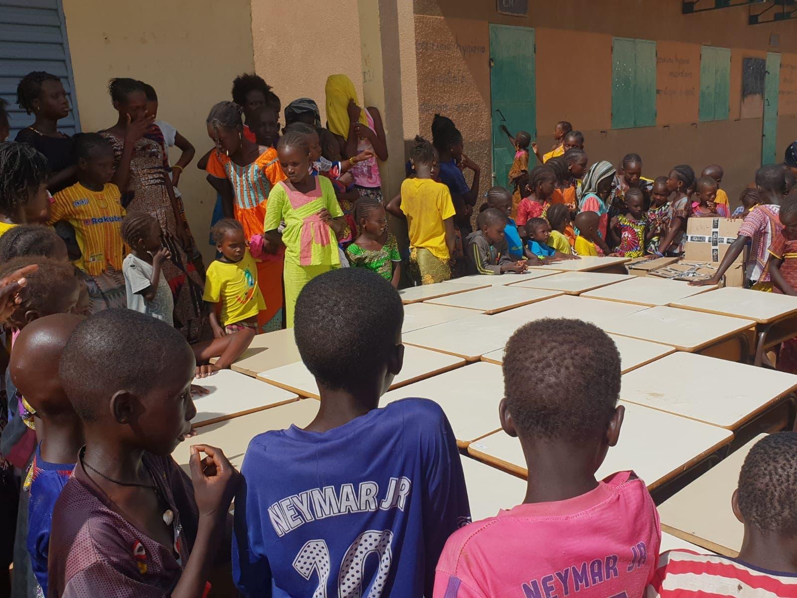Groupe MDI Technologies mécène au Fouta, Don de Materiel Santé et Scolaire à Matam, Ogo, Thiancone, Fouta, Sénégal (9)