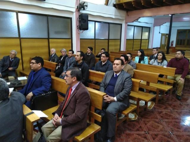 Tercera reunión UNIPECH San Joaquín, San Miguel y Pedro Aguirre Cerda
