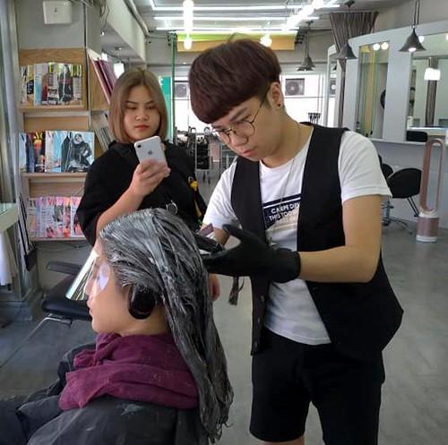 2019.08.28 樂樂染髮