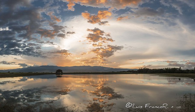 atardecer y reflejos   sunset and reflects landscape