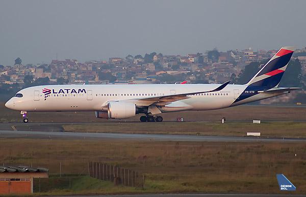 LATAM A350-900 PR-XTD (1) (Gustavo Martínez)
