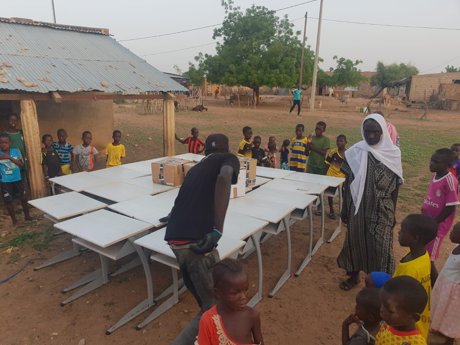 Groupe MDI Technologies mécène au Fouta, Don de Materiel Santé et Scolaire à Matam, Ogo, Thiancone, Fouta, Sénégal (1)