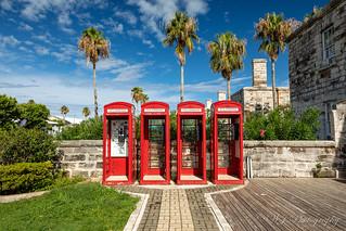 Phone Booth in Bermuda