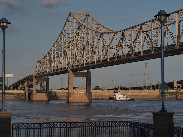 MLK bridge - Saint Louis, Missouri