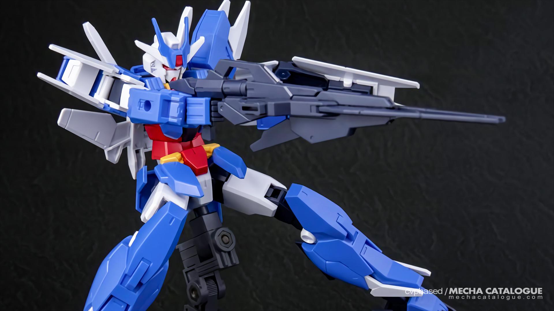 Straight Build Preview: HGBD:R Earthree Gundam