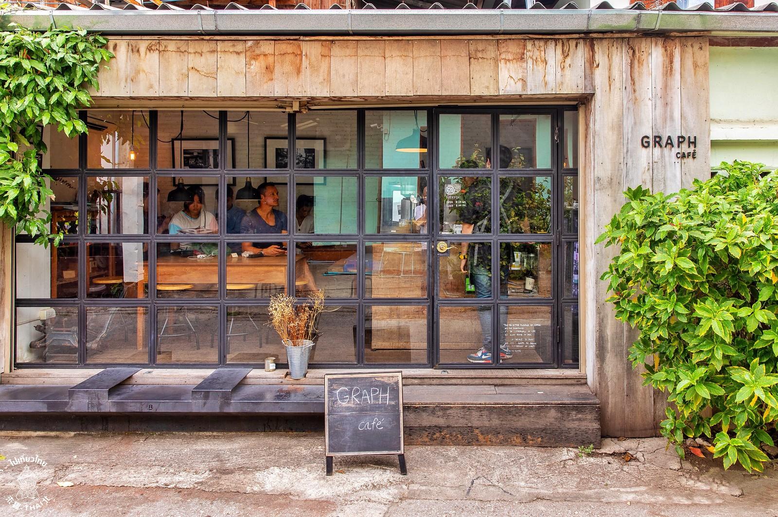 清邁文青咖啡始祖『GRAPH CAFE』